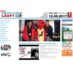 Henstedt-Ulzburg läuft - RightVision als Sponsor dabei